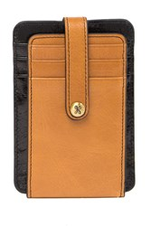 Hobo Access Leather Card Holder Earth