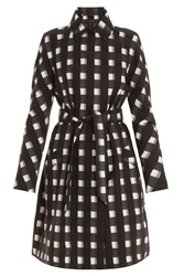 Martin Grant Check Trench Coat