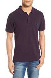 Rodd And Gunn Men's 'The Gunn' Pique Sports Fit Cotton Polo Mulberry