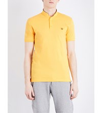 The Kooples Classic Fit Cotton Polo Shirt Yel30