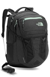 The North Face 'Recon' Backpack Grey Asphalt Grey Subtle Green
