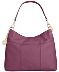 Tommy Hilfiger Th Signature Leather Small Hobo