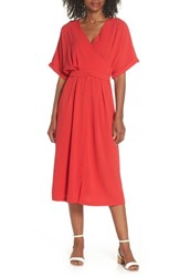 Felicity And Coco Dolman Sleeve Faux Wrap Dress