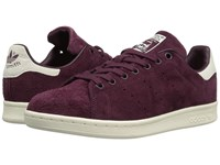 Adidas Stan Smith Maroon Maroon Off White Men's Tennis Shoes Burgundy