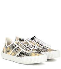 Etro Paisley Sneakers Yellow