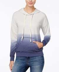 American Rag Dip Dyed Hoodie Only At Macy's Bleached Denim Combo