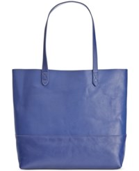Giani Bernini Large Leather Commuter Tote Only At Macy's Ink