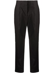 Dorothee Schumacher Cropped Trousers Black