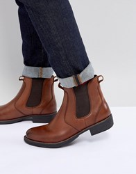 Eastland Leather Chelsea Boots In Tan Tan Brown