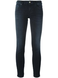 Diesel 'Skinzee Low Zip' Jeans Blue