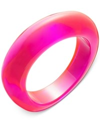 Inc International Concepts Oblong Colored Acrylic Bracelet Only At Macy's Pink