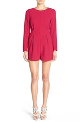 Women's Lucca Couture Long Sleeve Stretch Crepe Romper