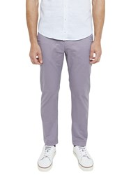 Ted Baker Serny Slim Fit Chinos Lilac