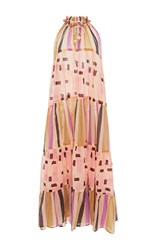 Yvonne S Sleeveless Maxi Dress Print