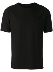 Roberto Collina Patch Pocket T Shirt Black