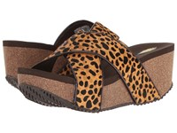 Volatile Blade Brown Cheetah Women's Sandals
