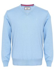 Thomas Pink Horseley Jumper Light Blue