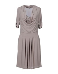 Caractere Short Dresses Light Grey