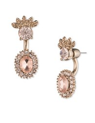 Marchesa Floral Floater Earrings Pink