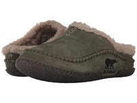 Sorel Falcon Ridge Nori Mud Slip On Shoes Olive