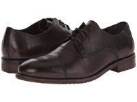 Frye Sam Oxford Dark Brown Hand Antiqued Full Grain Men's Lace Up Cap Toe Shoes