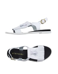 Stefanel Footwear Sandals Women White