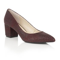 Lotus Alaura Animal Print Courts Burgundy