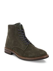 Brunello Cucinelli Leather Lace Up Ankle Boots Lode