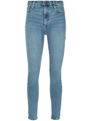 Nobody Denim Cult Skinny Ankle Winner Blue