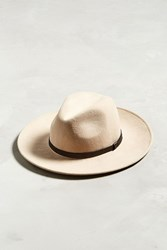 Urban Outfitters Wide Brim Fedora Taupe