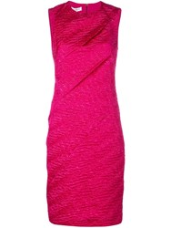 Narciso Rodriguez Sleeveless Fitted Dress Pink
