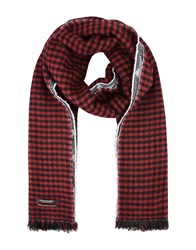Scotch And Soda Accessories Scarves Maroon