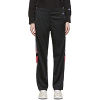 Champion Reverse Weave White Side Stripe Lounge Pants