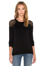 Rvca Grid Locked Sweatshirt Black