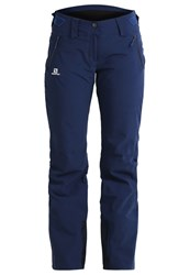 Salomon Iceglory Waterproof Trousers Wisteria Navy Dark Purple