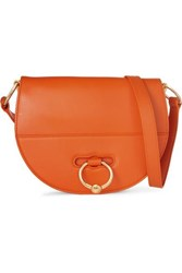 J.W.Anderson Jw Anderson Latch Textured Leather Shoulder Bag Orange