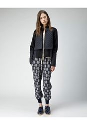 Suno Quilted Jacket Black