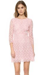 Giambattista Valli 3 4 Sleeve Dress Pink