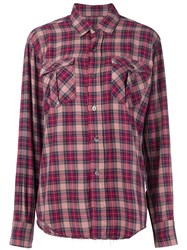 Department 5 Classic Shirt Pink And Purple
