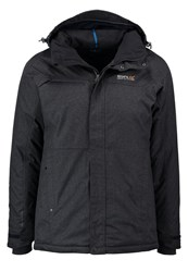 Regatta Highside Hardshell Jacket Navy Mottled Grey