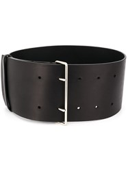 Haider Ackermann Oversized Leather Belt 60