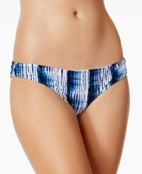 Raisins Indigo Nights Tie Dyed Cheeky Bikini Bottoms Women's Swimsuit Black