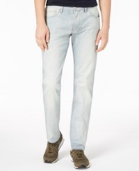 Armani Exchange Ax Straight Fit Stretch Jeans Light Blue