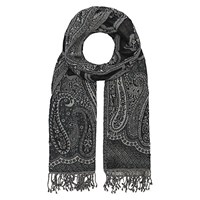 Gerard Darel Camden Wool Scarf Dark Grey