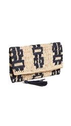 Mar Y Sol Tula Clutch Navy