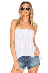 Indah Mary Top White