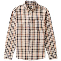 A.P.C. Mick Check Shirt Brown