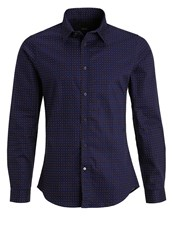 Bertoni Pelle Shirt Mood Indigo Dark Blue