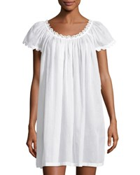 Celestine Jule Cap Sleeve Short Nightgown White