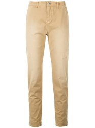 Twin Set Straight Leg Trousers Brown